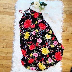 Girl's Floral Maxi Dress